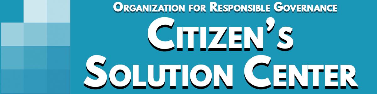 ORG Bahamas Citizen Solution Center